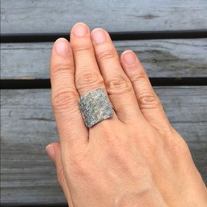 Jewelry - GENUINE 925 Solid Sterling Silver Statement Ring